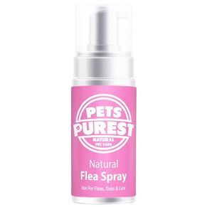 image of flea spray bottle