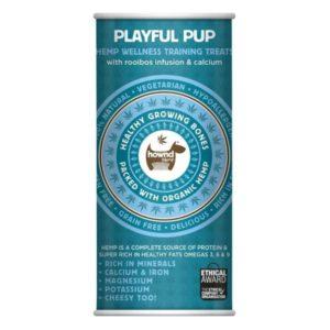 tube of puppy treats