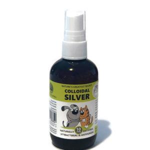 Colloidal Silver 100 ml natural antibacterial spray bottle